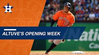 The best moments from Jose Altuve