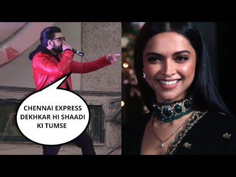 Ranveer Singh PRAISES Deepika Padukone Acting In PUBLIC At a Theater in Mumbai - SIMMBA Promotion