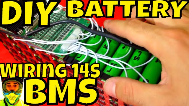 Bms Wiring Diagram Ebike Glycolysis And Krebs Cycle Diy Battery How To Wire 14s 52v Pack 18650 Cells Management System Electric Bike Youtube