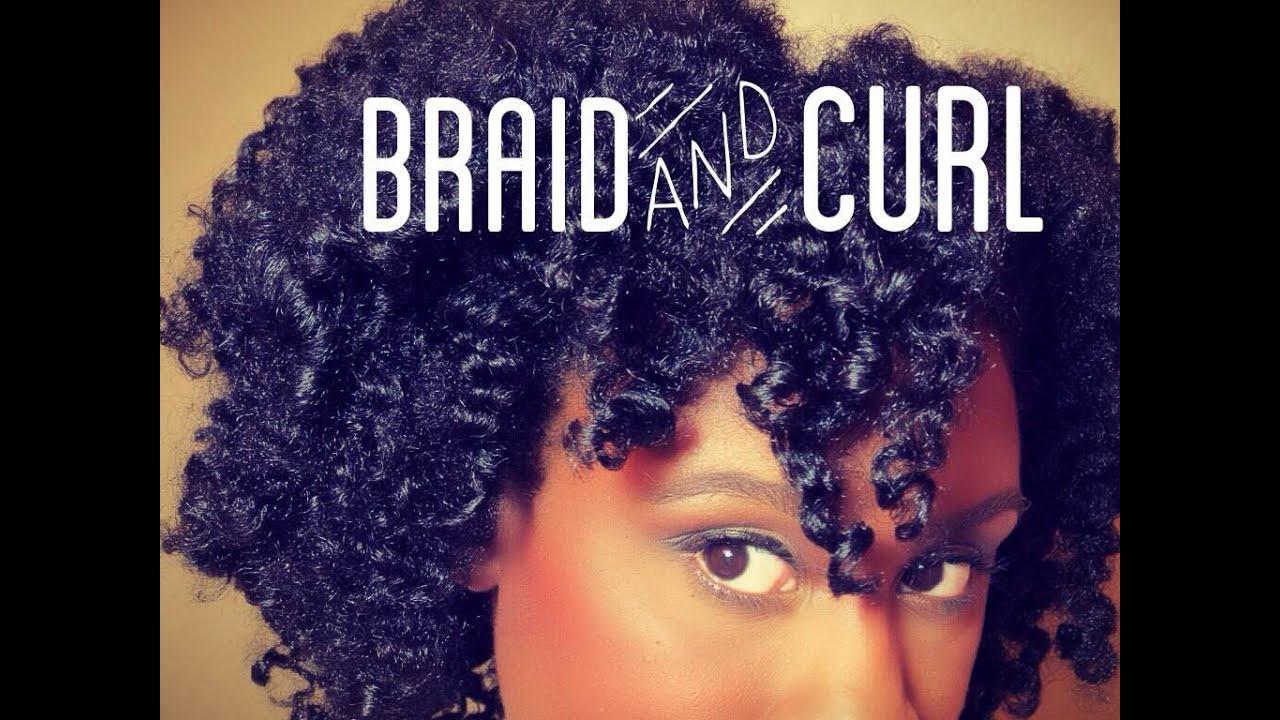 braid & curl tutorial medium