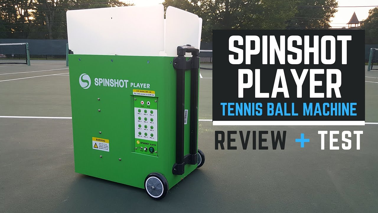 How To Use Your Spinshot Player Tennis Ball Machine Program Drillmaker App Youtube