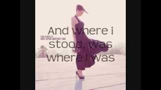 Sara Bareilles- Once Upon Another Time Lyrics (in description)