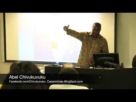 Abel Chivukuvuku speaking at University Of Nevada Las Vegas
