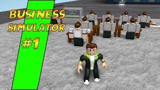 ROBUX ŞİRKETİ KURUYORUM / Roblox Business Simulator / Roblox Simülasyon