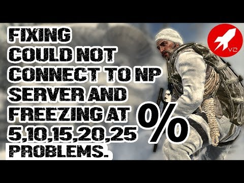 Fixing the freezing,sticking at 5,10,15,20,25% and could not connect to NP server (V2 Rocket Bo1)