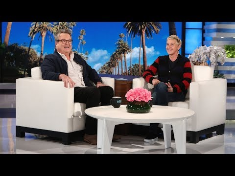 Eric Stonestreet Finally Gets His Scare Revenge on Ellen
