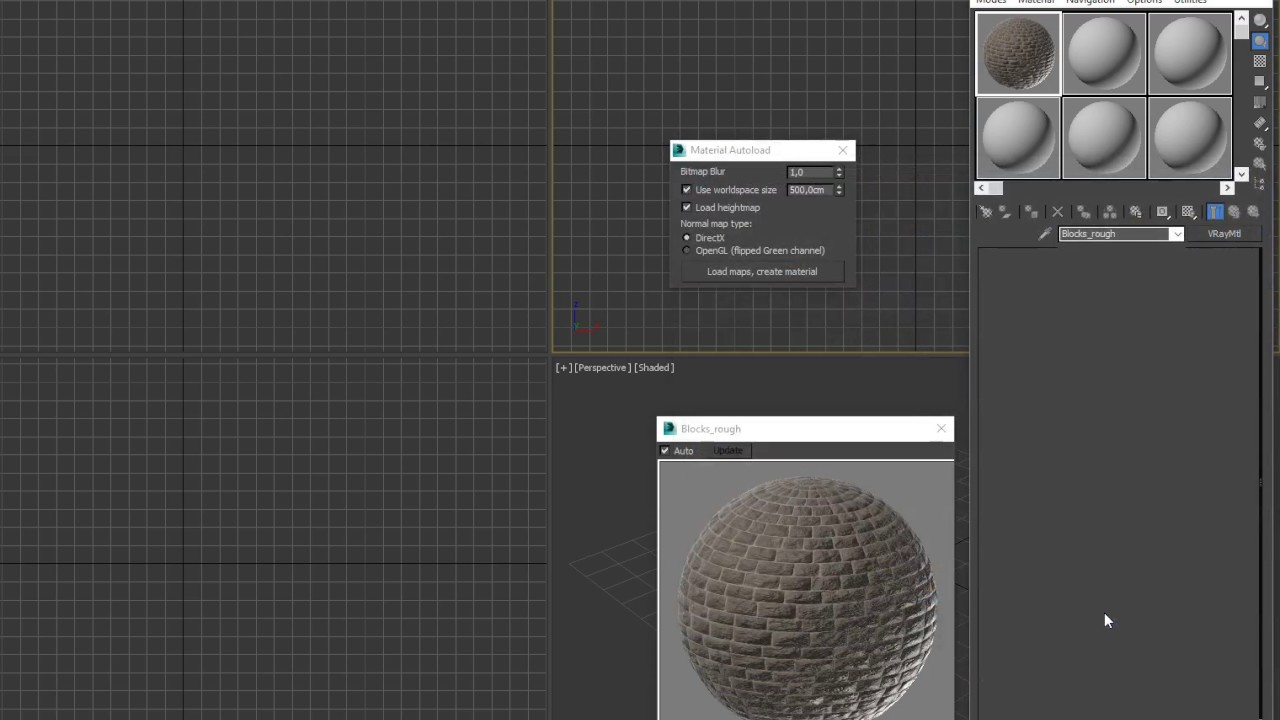 Autoload Materials Script – Racoon Artworks