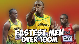 Top 10 Fastest Men In The World | 100m