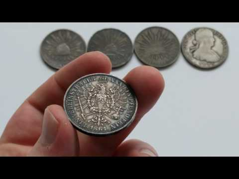 World coin pickups - 8 reales, thaler, ancients and more - Coin Talk in 4k