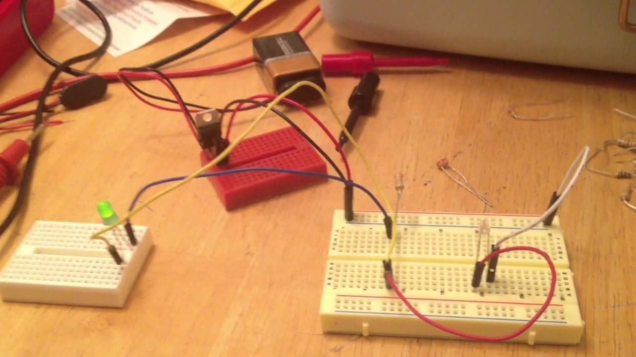 Ambient Light Sensor Youtube Photo Of Circuit