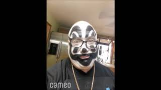 VIOLENT J OF THE ICP INSANE CLOWN POSSE CAMEO VIDEO COMP 11/6/20