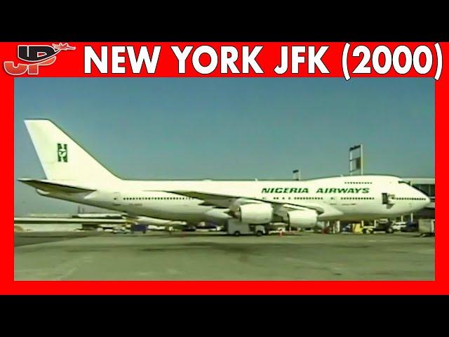 30mins of Plane Spotting Memories at NEW YORK JFK AIRPORT (2000)