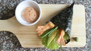 Как готовить Суши Темаки / TEMAKI