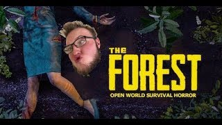 The Forest gameplay- FUNNY MOMENTS!!