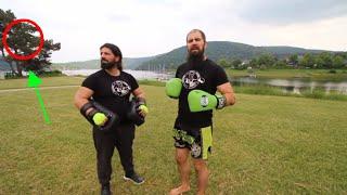 Spinning back fist mit Mazdak erklärt 👍👊