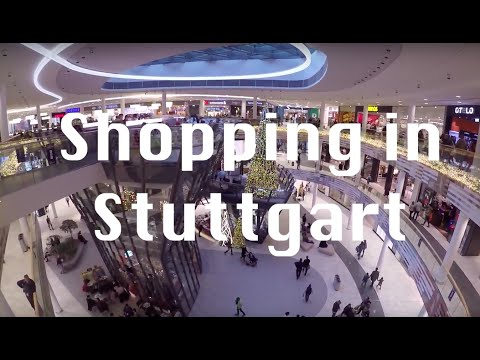 Shopping in Stuttgart