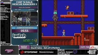 SGDQ 2016 Chip 'N Dale  Rescue Rangers 2 Russian Restream