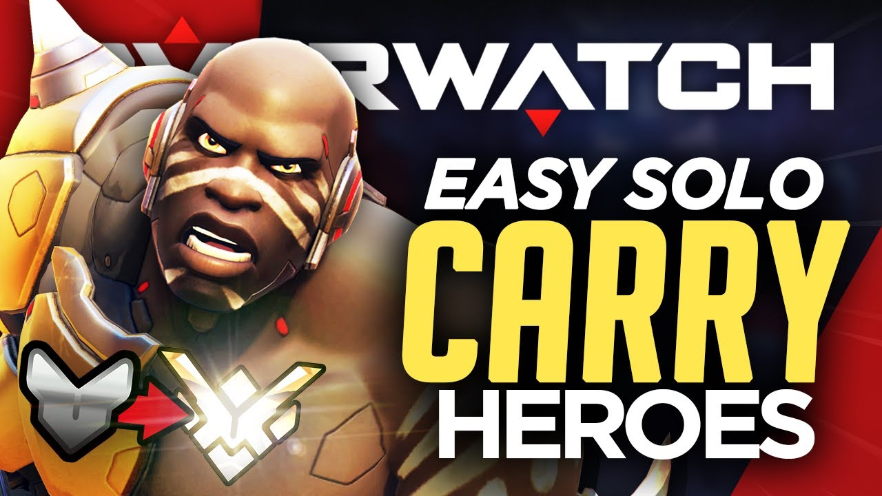 Best Heroes To Solo Carry In Every Rank Overwatch Guide Youtube