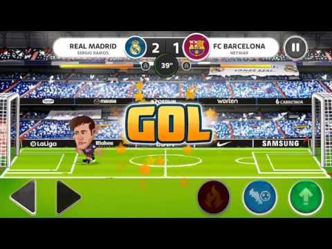 Head soccer Sergio Ramos vs neymar