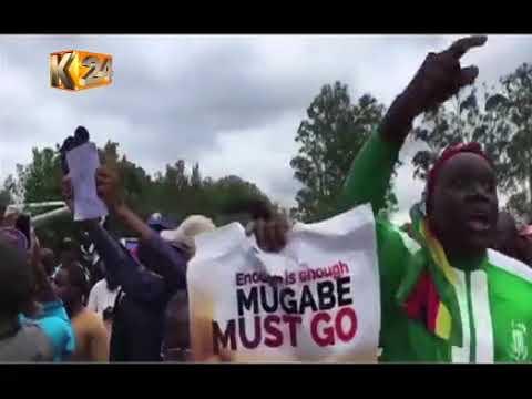 Zimbabwe President kicked out of the ruling party Zanu PF