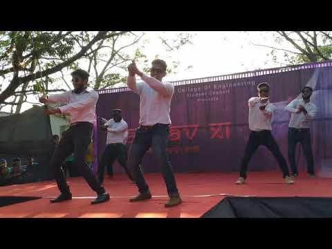 Mining Department Tandav 2019 Group Dance