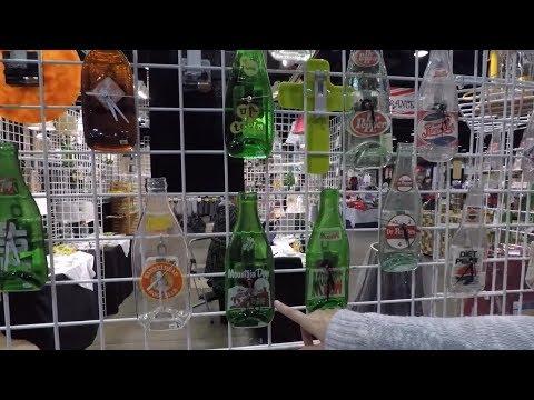 BJCC Birmingham Christmas Village: Repurposed old Bottles!!!