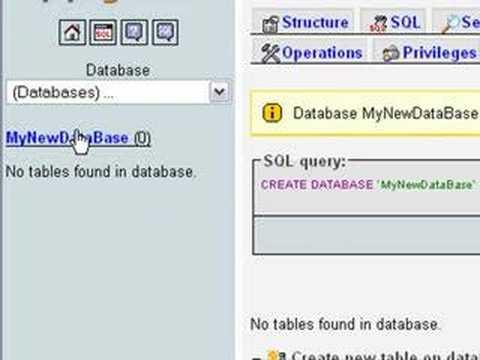 Installing WAMP and Creating a MySQL Database - YouTube