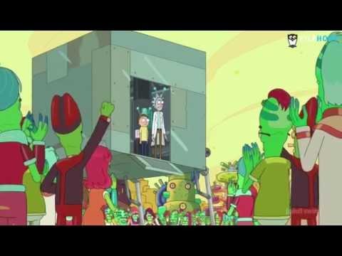Rick & Morty - battery people, peace among worlds