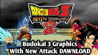 Dragon Ball Shin Budokai 2 New Mod With Budokai 3 Graphics + New Attack DAWNLOAD