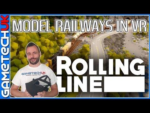 Rolling Line  - Build Model Railways in VR
