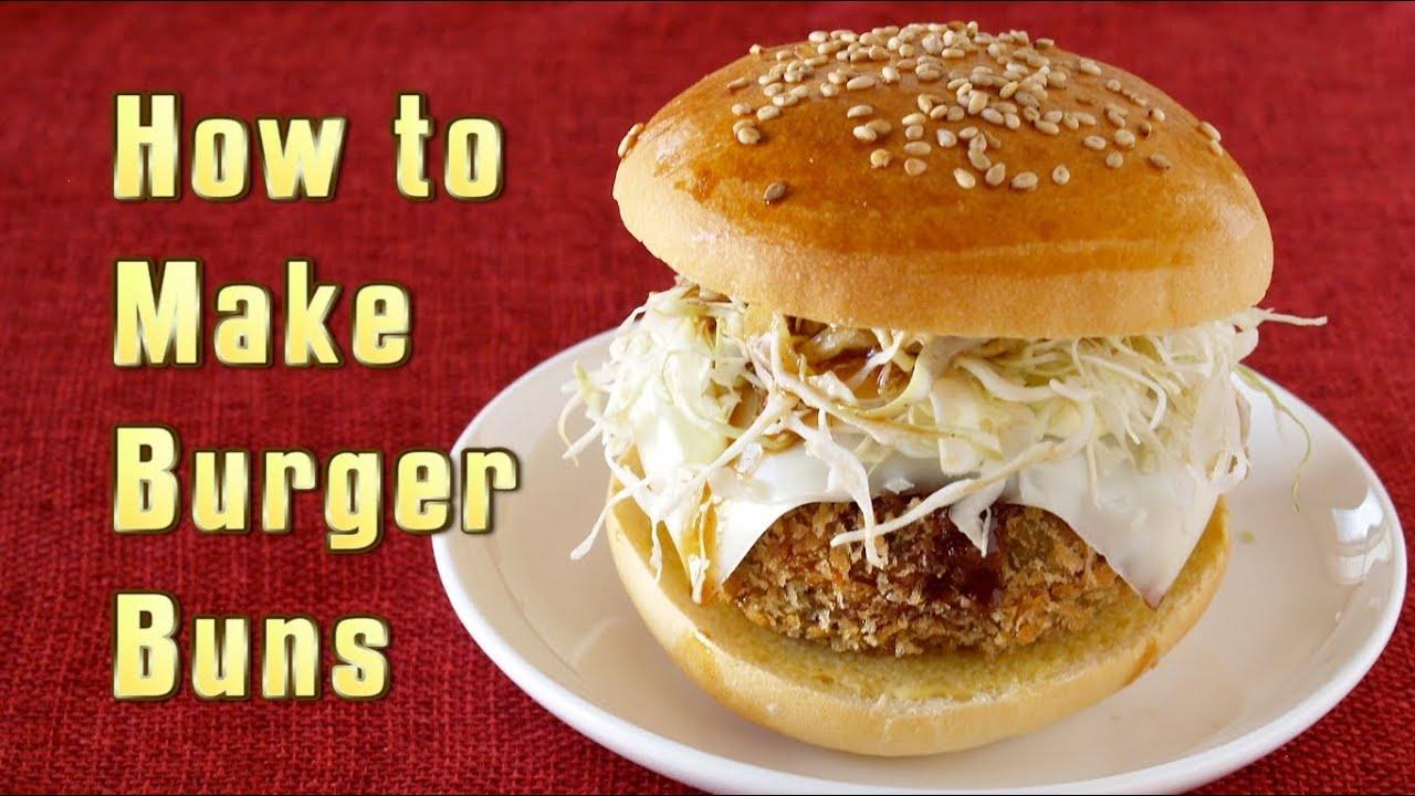 How to make hamburger buns youtube