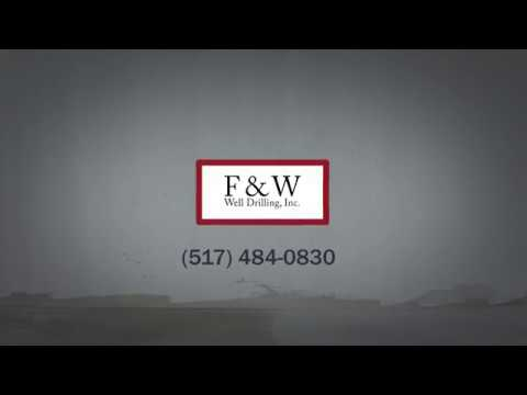 Well Drilling Contractor & Well Pump Service in Lansing, MI | F & W Well Drilling, Inc.