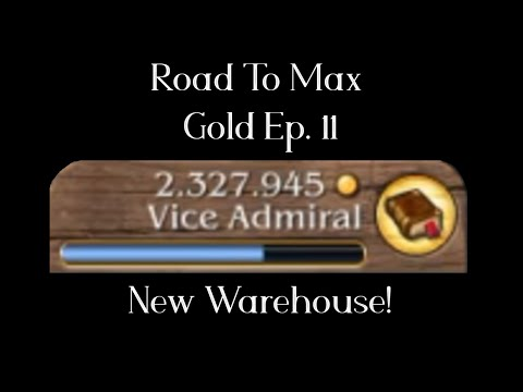 [Timelapse] New Warehouse -  Road to Max Gold - Port Royale 3 Ep11 |