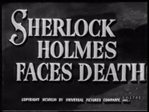 Sherlock Holmes di fronte alla morte 1943  Basil Rathbone