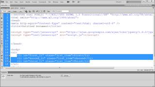 jQuery Tutorial: Selecting Objects with jQuery -HD-