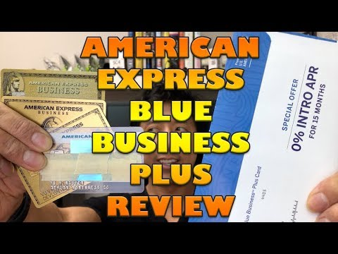 AMERICAN EXPRESS BLUE BUSINESS PLUS REVIEW | NOT WORK SAFE AT 4:00 MARK