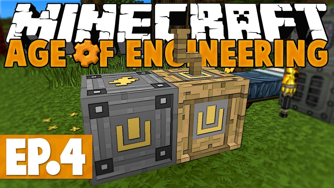 Minecraft Age of Engineering! #4 - Calculator! [Twitch VoD]