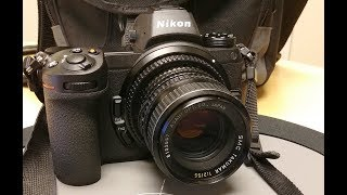 Nikon Z7 Z6 Manual Focus Features and My Setup + vs. A7RII Startup and Shutter Sound