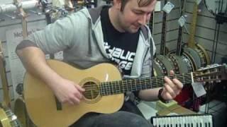 Tony plays the Blueridge BR 341 Parlour Guitar at Hobgoblin Music Birmingham