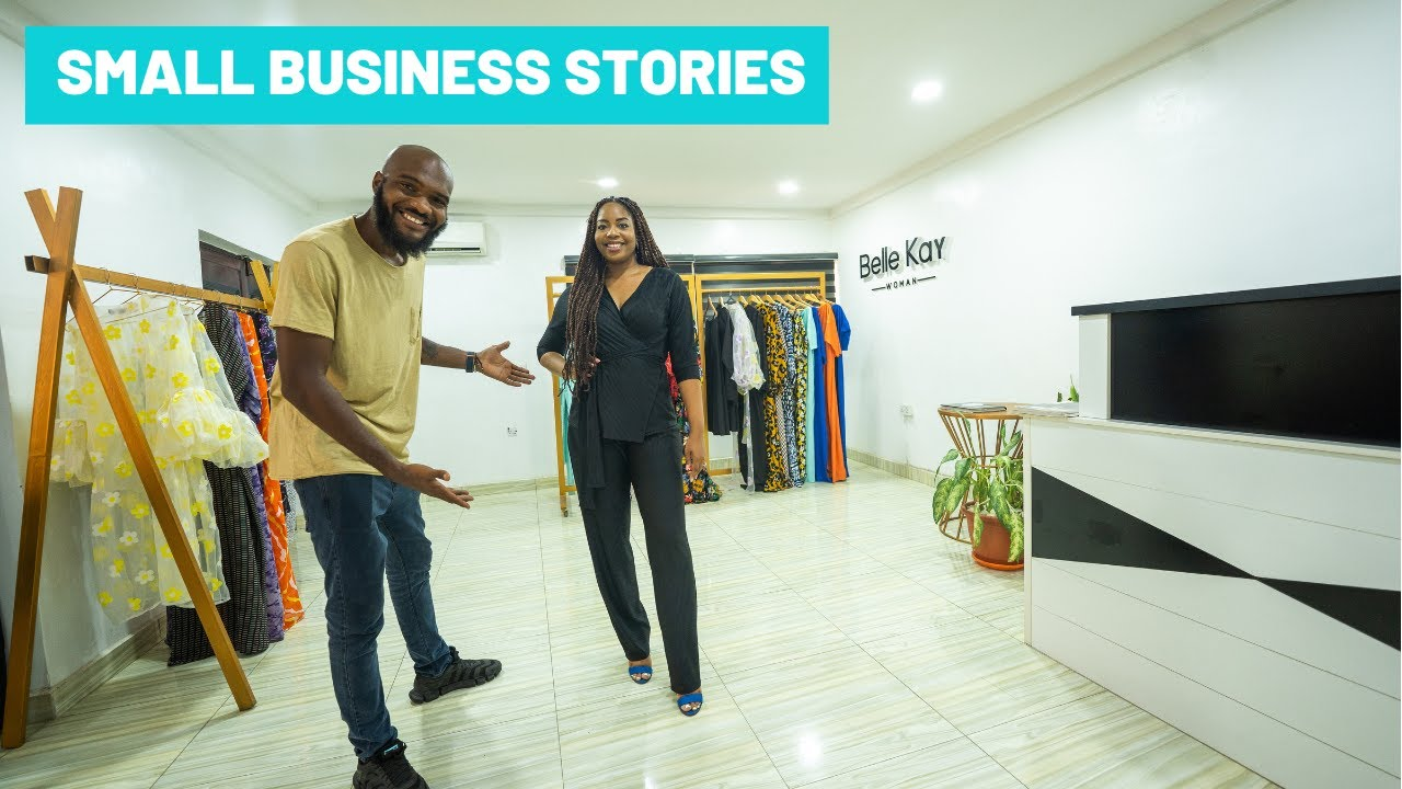 She Left the UK to start a Fashion Company In Nigeria!