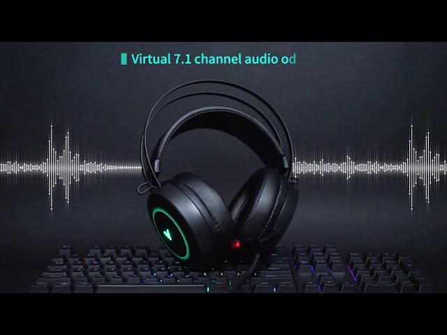 VH160 Virtual 7.1 Channels Gaming Headset - YouTube
