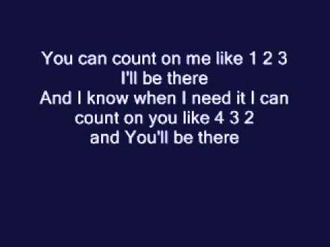 Bruno Mars-Count On Me (lyrics)