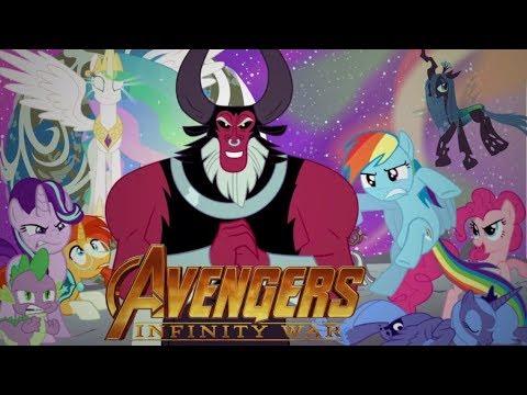 Mlp Avengers Equestria War Fantrailer Youtube