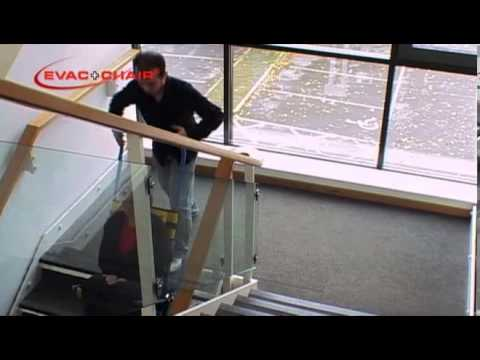 Evac+Chair Silla de evacuación por escaleras en Colombia