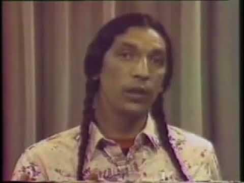 Flat Earth News -  (MIRRORED) Native American Activist and Member of the American Indian Movement L