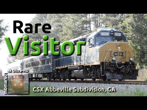 [6n][4k] Rare Visitor On The CSX Abbeville Sub, GA 05/01/2019