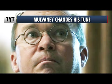 Mick Mulvaney SUDDENLY Cares About COVID-19
