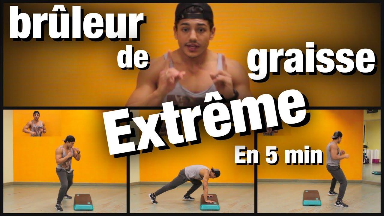 Extreme cardio bruleur de graisse 5 min chrono intense by bodytime youtube - Nettoyer graisse brulee four ...