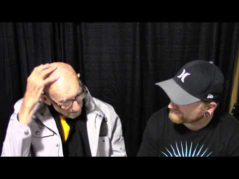 Interview with Erik Bauersfeld at his first convention @ Fanboy expo 2013