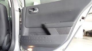Demonter porte arriere Renault megane 2 pour changer enceinte